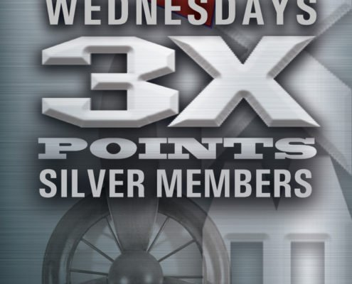 El Capitan Casino Wednesdays 3x Points Silver Members